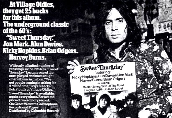 Bob in the 1973 issue of Creem Magazine