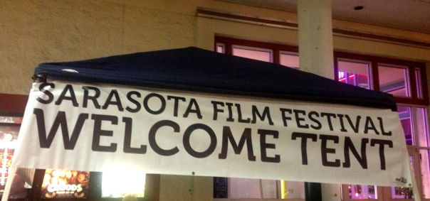 #SFF Welcome Tent