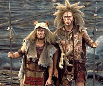 """Rick Overton and Kevin Pollack in """" Willow"""""""