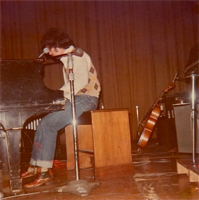 Billy Joel Miami Convention Center April 1st 1972 PHOTO: Susan Geiser