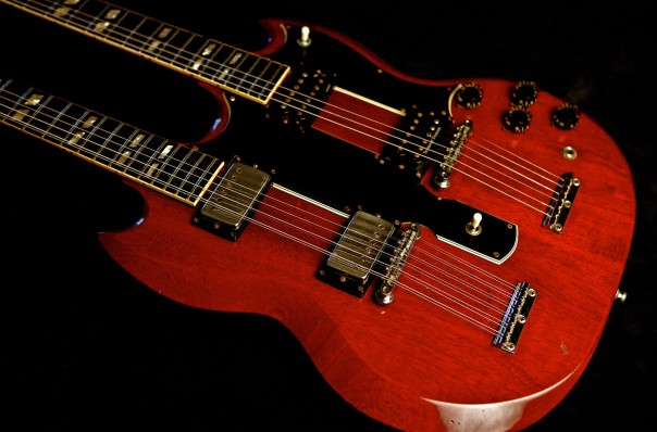 Jimmy Page Gibson SG Doubleneck  PHOT: Lisa Johnson