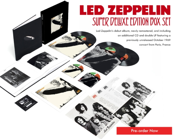 led zeplin delux box set